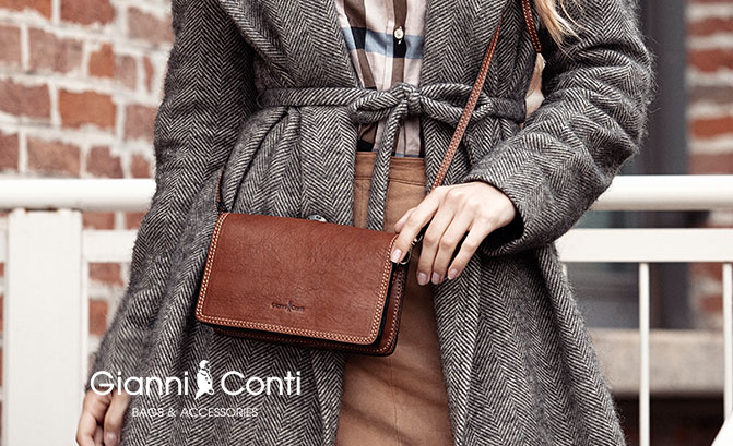 Tannery|Brochue|2020|2021|Gianni|Conti|Crossbody|913413|