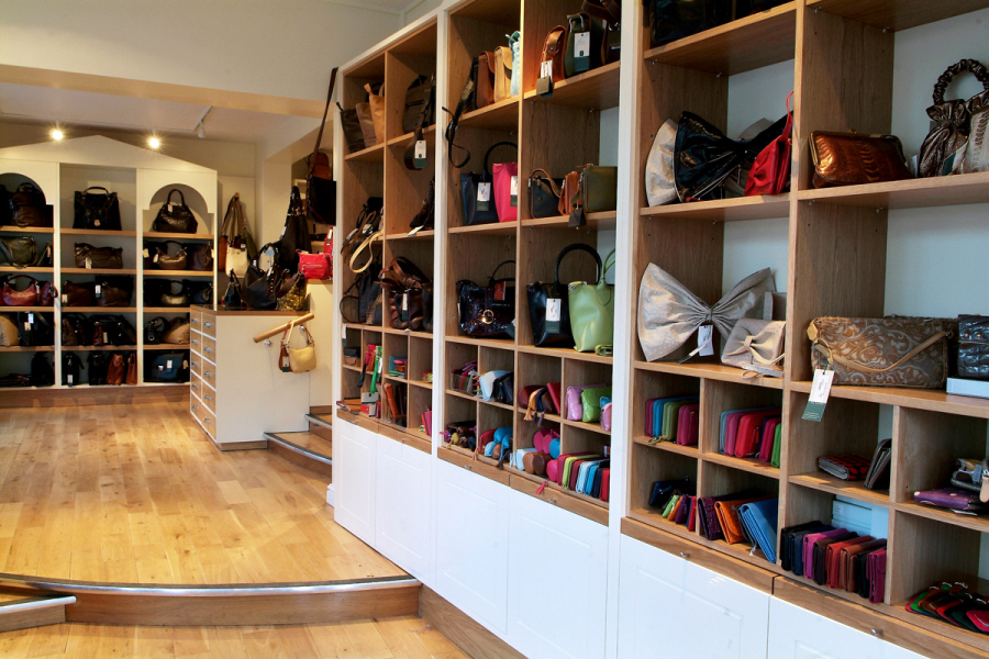 Tannery|Women|Interior|Holt|Bull Street|Leather|Handbags|Shop|Retail