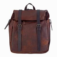 Chiarugi|backpack|roll backpack|gap year |traditional leather|54001|mens leather backpack|travel backpack