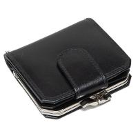 Oxford|Leathercraft|Frame|Purse|60328|Black|