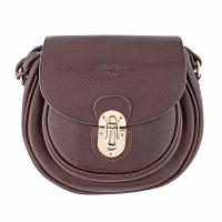 Boldrini|Shoulder|Bag|7252|Full|Grain|Dark|Brown|