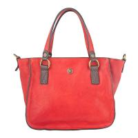 Chiarugi|Old|Tuscany|Mini|Handbag|53004|Red|