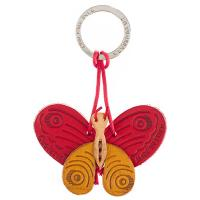 Key ring|The Tannery|Butterfly|Butterfly key ring|Christmas ideas|Birthday gifts|Gifts under £10|gifts for her|gifts for him|gifts for teens| leather gift ideas|anniversary gift ideas|3rd wedding anniversary|key holders|leather key rings|Red