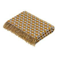 Bronte|Rectangle|Gold|Throw|