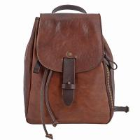 Chiarugi|Backpack|53282|brown|distressed leather|leather backpack|ladies backpack|small backpack|The Tannery