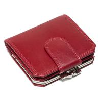 Oxford|Leathercraft|Frame|Purse|60328 |Berry|