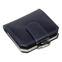 Oxford|Leathercraft|Frame|Purse|60328|Navy|